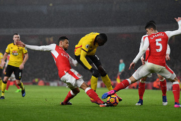 Francis Coquelin Arsenal v Watford - Premier League