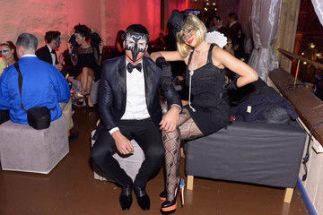 Francisco Escobar Arrivals at the 4th Annual UNICEF Masquerade Ball