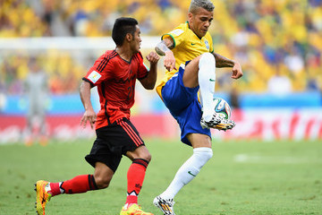Francisco Javier Rodriguez Brazil v Mexico: Group A