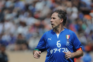 Franco Baresi J.League Legend v Glorie Azzurre