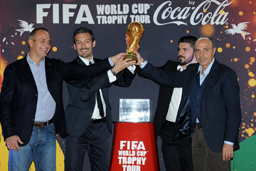 Franco Causio FIFA World Cup Trophy Tour