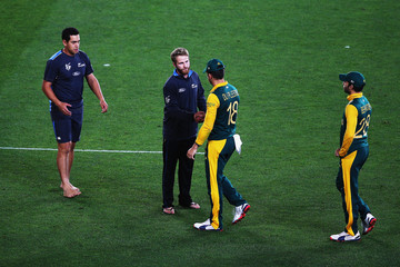 Francois Du Plessis New Zealand v South Africa: Semi Final - 2015 ICC Cricket World Cup