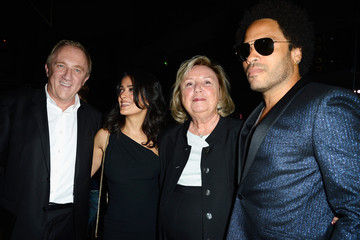 Francois-Henri Pinault PFW: Front Row at Saint Laurent