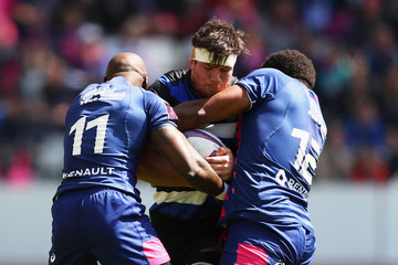 Francois Louw Stade Francais Paris v Bath Rugby - European Rugby Challenge Cup