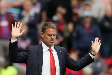 Frank De Boer Liverpool v Crystal Palace - Premier League