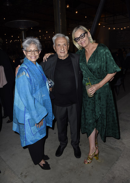 LA Dance Project's 2019 Fundraising Gala [la dance project,event,fashion,outerwear,fashion design,night,smile,costume,ceremony,executive director,berta isabel aguilera,frank gehry,lucinda lent,los angeles,california,fundraising gala]