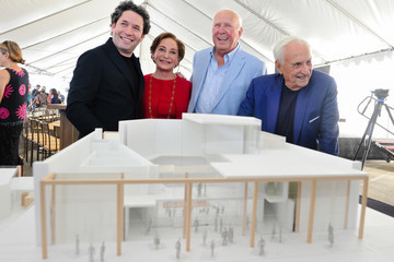Frank Gehry Unveiling Of The Judith And Thomas L. Beckmen Yola Center At Inglewood