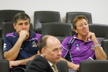 Frank Ponissi Melbourne Storm Press Conference