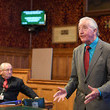 Frank Skinner Supporters of the Truth and Justice Campaign for Orgreave Meet at the Palace of Westminster