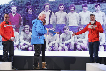 Frank-Walter Steinmeier Around the Games: Day 1 - Winter Olympic Games