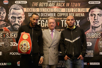 Frank Warren Boxing Press Conference