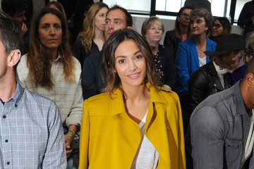 Frankie Bridge Front Row & Arrivals - Day 2 - LFW September 2016