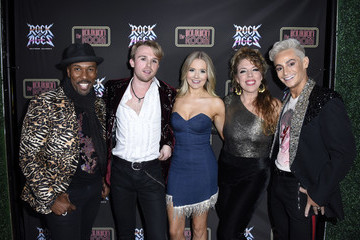 """Frankie Grande Eric Jordan Young Opening """"Night Of Rock Of Ages"""" Hollywood At The Bourbon Room"""