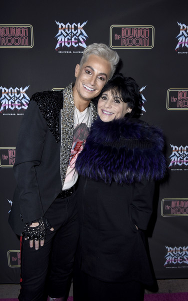 "Opening ""Night Of Rock Of Ages"" Hollywood At The Bourbon Room [rock of ages,event,premiere,fashion design,joan grande,frankie grande,hollywood,the bourbon room,california,night of rock of ages,opening night,joan grande,frankie grande,celebrity,the bourbon room,rock of ages,broadway theatre,photograph,red carpet,image]"