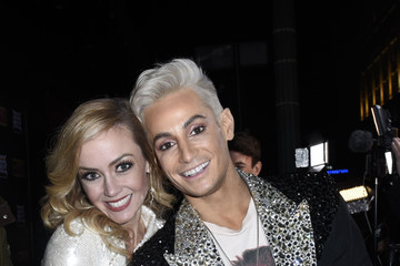 """Frankie Grande Stephanie Renee Wall Opening """"Night Of Rock Of Ages"""" Hollywood At The Bourbon Room"""