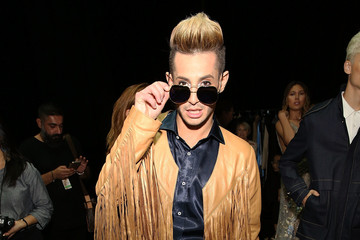 Frankie J. Grande Malan Breton - Backstage - September 2016 - New York Fashion Week