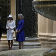 Franklin Kelly First Lady Melania Trump And Mrs. Brigitte Macron Visit The National Gallery Of Art