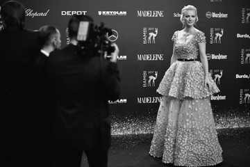 Franziska Knuppe Red Carpet Arrivals - Bambi Awards 2017