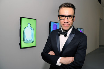 Fred Armisen MOCA's 35th Anniversary Gala Presented By Louis Vuitton At The Geffen Contemporary At MOCA - Cocktails/Exhibition