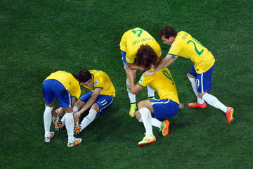 Fred David Luiz Brazil v Croatia: Group A