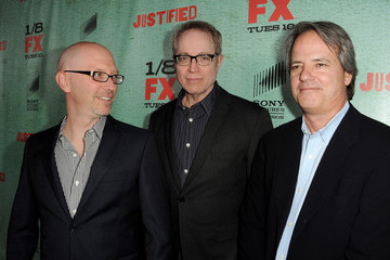"Fred Golan Premiere Of FX's ""Justified"" Season 4 - Red Carpet"