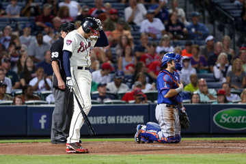 Freddie Freeman New York Mets v Atlanta Braves