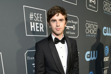 Freddie Highmore The 24th Annual Critics' Choice Awards - Red Carpet