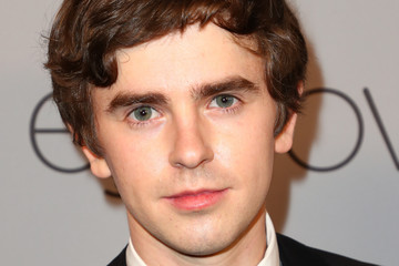 Freddie Highmore The 2018 InStyle and Warner Bros. 75th Annual Golden Globe Awards Post-Party - Red Carpet