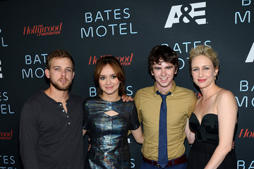 Freddie Highmore Arrivals at the 'Bates Motel' Comic-Con Party