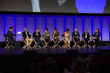 Freddie Highmore The Paley Center For Media's 35th Annual PaleyFest Los Angeles - 'The Good Doctor' - Inside