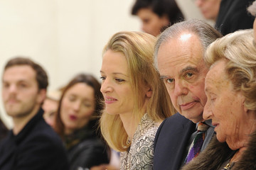 Frederic Mitterrand Front Row at the Christian Dior Show