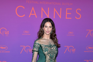 Frederique Bel Opening Gala Dinner Arrivals - The 70th Annual Cannes Film Festival