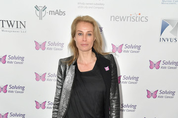 Frederique Van Der Wal Solving Kids' Cancer Annual Spring Celebration Gala