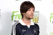 Louis Tomlinson attends the Free Radio Hits Live at Arena Birmingham on May 04, 2019 in Birmingham, England.