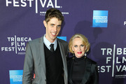 """DirectorJay Gammill and actress Tippi Hedren attend the """"Free Samples"""" Premiere during the 2012 Tribeca Film Festival at the Clearview Chelsea Cinemas on April 20, 2012 in New York City."""
