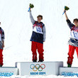Team USA swept the podium in Men's Slopestyle Skiing.