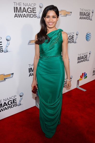 Freida Pinto - 44th NAACP Image Awards - Red Carpet