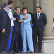 Rafael Ibanez French Athletes Attend Lunch At Elysee Palace
