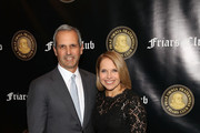 John Molner and Katie Couric attend the Friar's Club Honors Billy Crystal with their Entertainment Icon Award at The Ziegfeld Ballroom on November 12, 2018 in New York City.