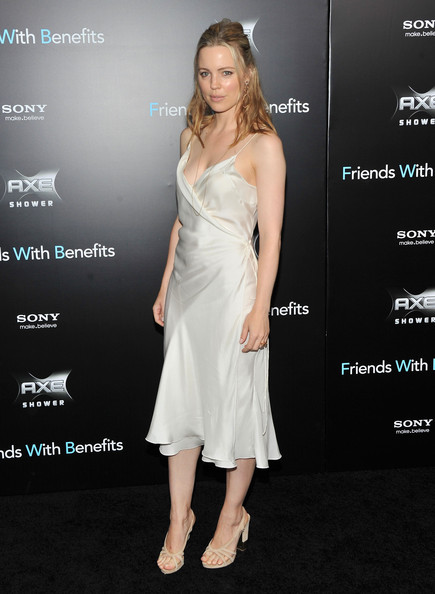 "Melissa George attends the ""Friends with Benefits"" premiere at Ziegfeld Theater on July 18, 2011 in New York City."