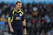 Dominic Cork of Hampshire looks on during the Friends Provident T20 Final between Hampshire Royals and Somerset at The Rose Bowl on August 14, 2010 in Southampton, England.