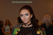 Charlotte Dawson attends the Fun Affair show at Fashion Scout during London Fashion Week Spring/Summer collections 2017 on September 20, 2016 in London, United Kingdom.
