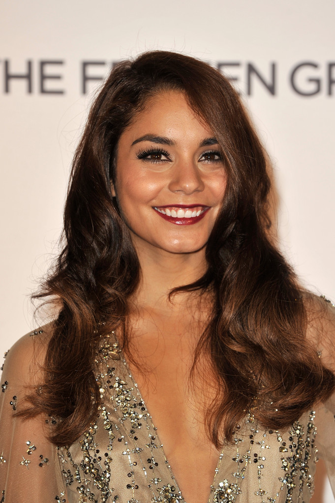Dark Lipstick in the Summer? Vanessa Hudgens Is All For It!