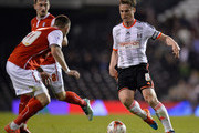 Scott Parker of Fulham FC during the Sky Bet Championship match between Fulham and Rotherham United at Craven Cottage on April 15, 2015 in London, England.