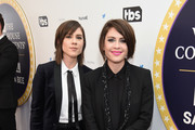 Tegan and Sara attend Full Frontal With Samantha Bee's Not The White House Correspondents' Dinner at DAR Constitution Hall on April 29, 2017 in Washington, DC.