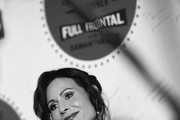 """Image has been converted to black and white.)   Minnie Driver attends """"Full Frontal With Samantha Bee"""" Not The White House Correspondents Dinner at DAR Constitution Hall on April 26, 2019 in Washington, DC. (Photo by Dimitrios Kambouris/Getty Images for TBS) 558302"""
