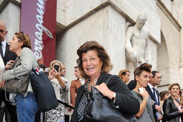 Fulvia Visconti Ferragamo MFW: Arrivals at Salvatore Ferragamo