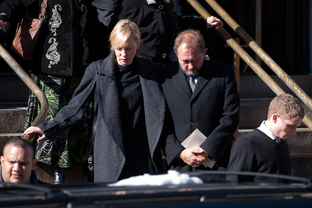 Cate Blanchett Photos Photos - Funeral Held for Philip ...