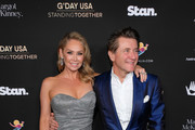 Kym Johnson and Robert Herjavec attend G'Day USA 2020 at Beverly Wilshire, A Four Seasons Hotel on January 25, 2020 in Beverly Hills, California.