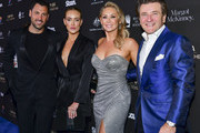 (L-R) Maksim Chmerkovsky,  Peta Murgatroyd, Kym Johnson, and Robert Herjavec attend G'Day USA 2020 | Standing Together Dinner at the Beverly Wilshire Four Seasons Hotel on January 25, 2020 in Beverly Hills, California.